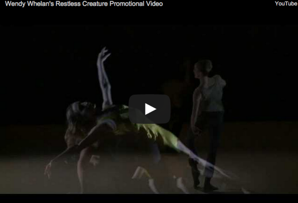 Restless Creature Wendy Whelan dance film by Nel Shelby