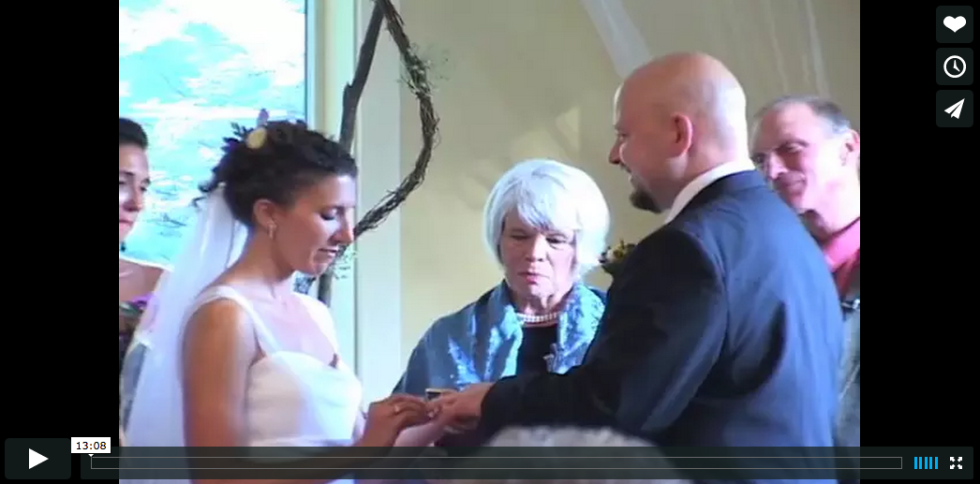 Finding Inspiration in My Wedding Video