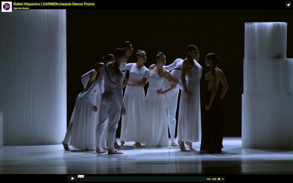 Ballet Hispanico | CARMEN.maquia Promotional Dance Video
