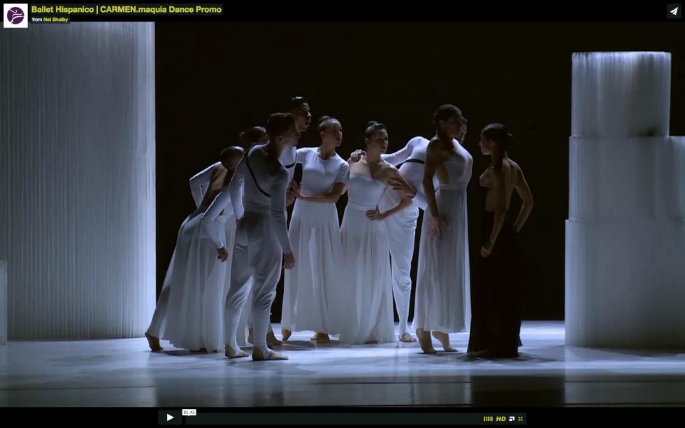 Ballet Hispanico | CARMEN.maquia Promotional Dance Video