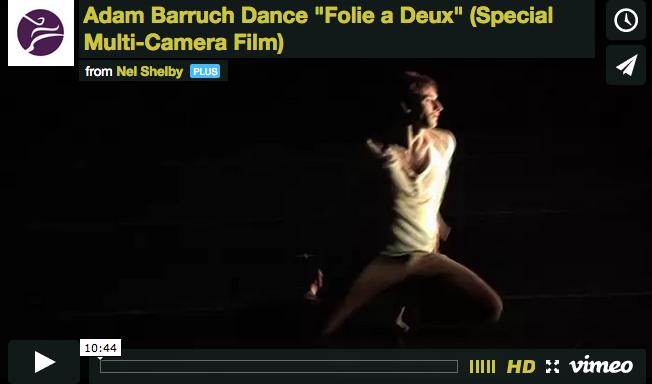 Adam Barruch | Dance Film at Joyce SoHo
