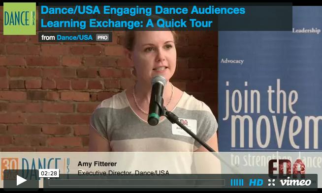 Dance/USA   Learning Exchange Promo