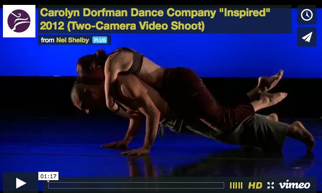 "Carolyn Dorfman Dance Company | ""Inspired"" in Performance"