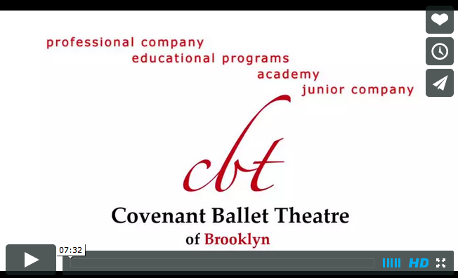 Ballet Company Promo | Covenant Ballet Theatre of Brooklyn