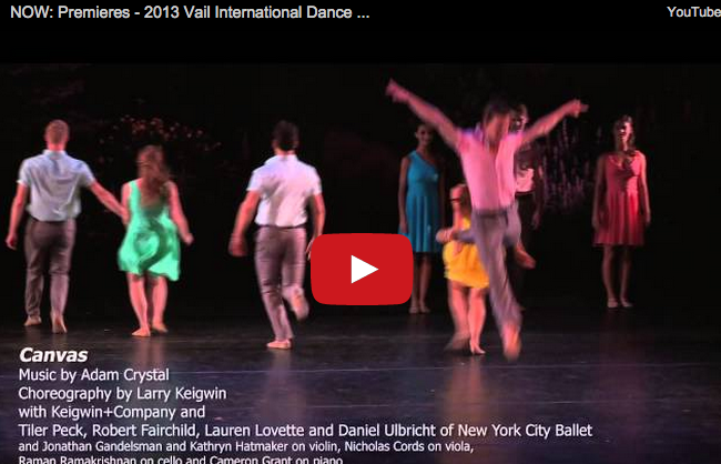 Vail International Dance Festival | NOW Premieres with Lil Buck, Paul Taylor, Keigwin + Co & More