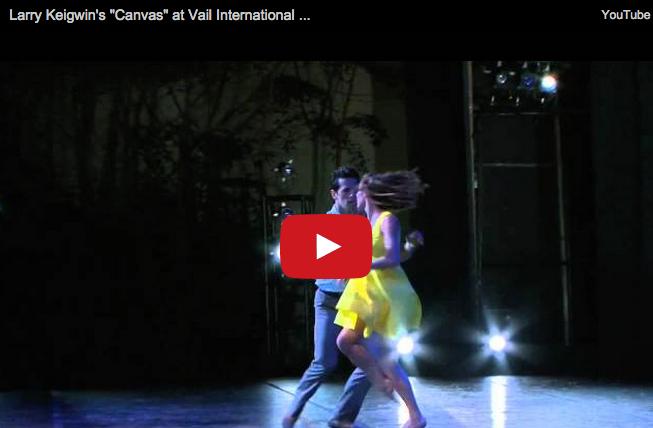 "Keigwin + Company   The Making Of ""Canvas"" & 10th Anniversary Season"
