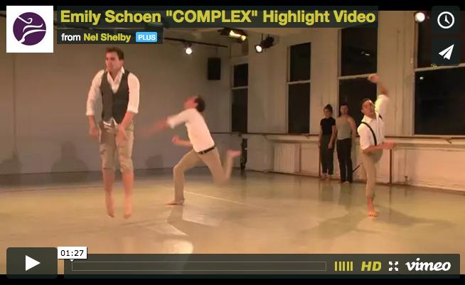 Emily Schoen | Performance Highlights at Gibney Dance Center