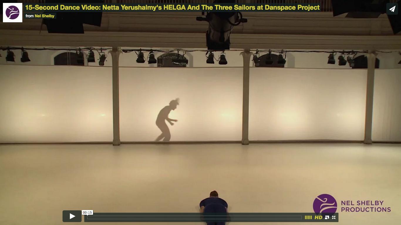 Netta Yerushalmy | Performance Video from HELGA at Danspace
