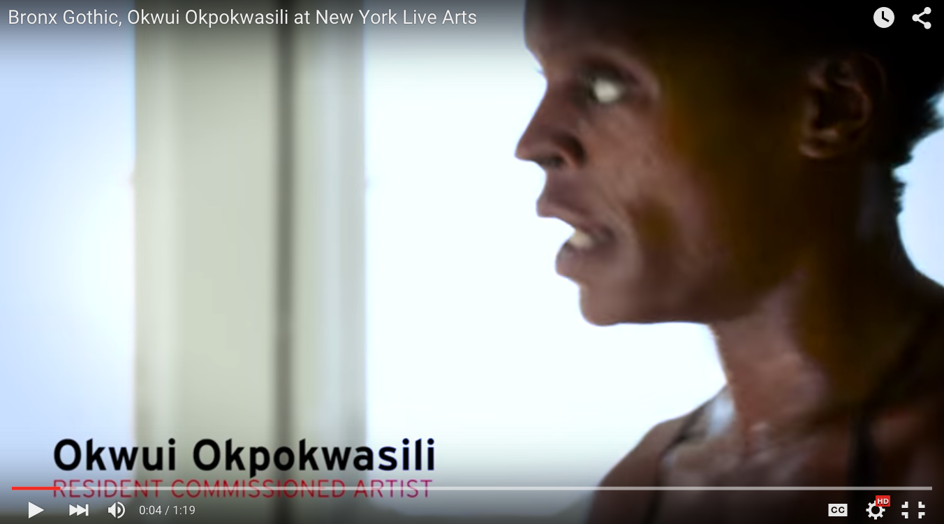 New York Live Arts | Okwui Okpokwasili Promo Dance Film