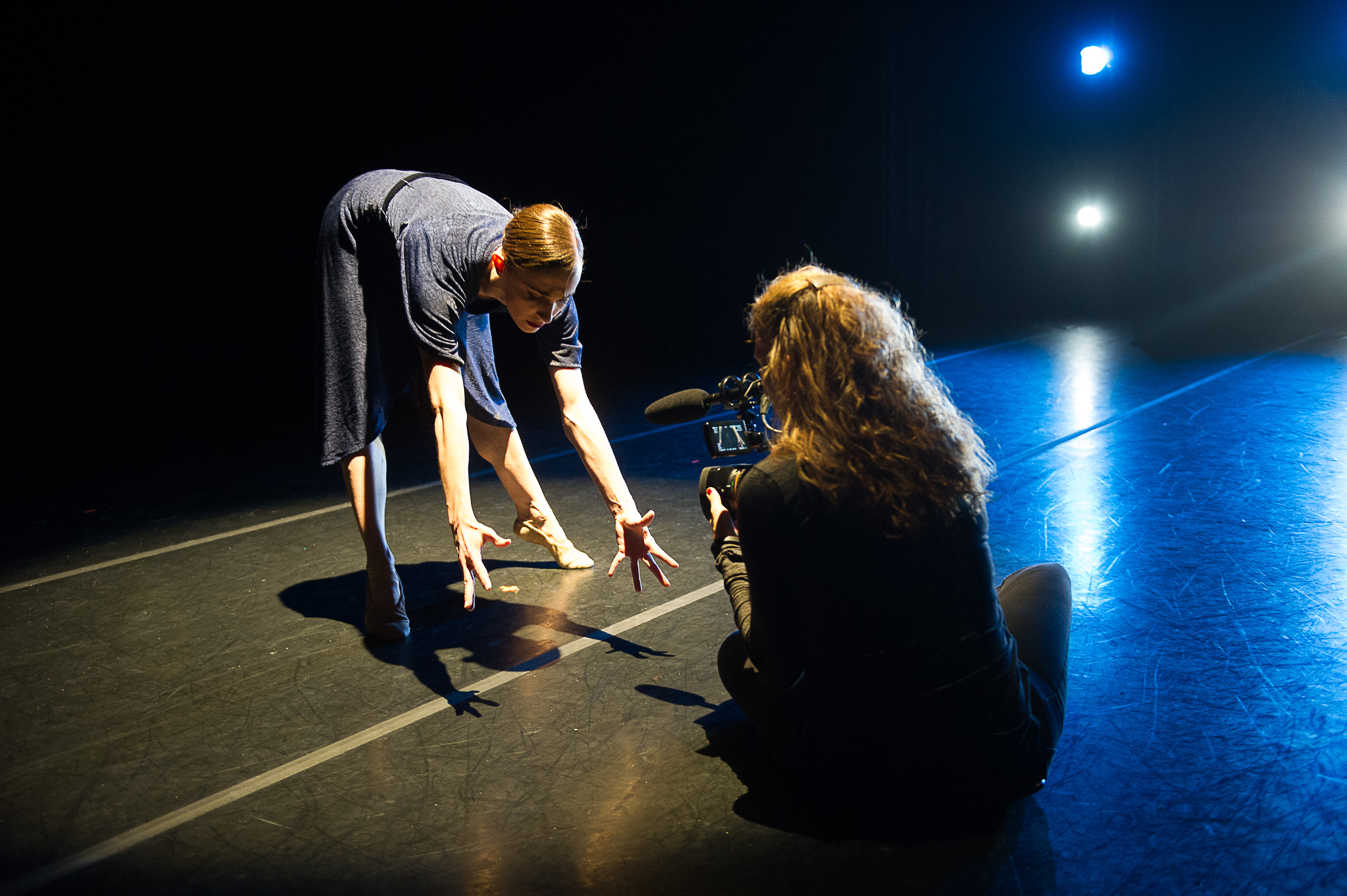 Margaret Mullin & Nel Shelby in No Dominion; photo by Christopher Duggan