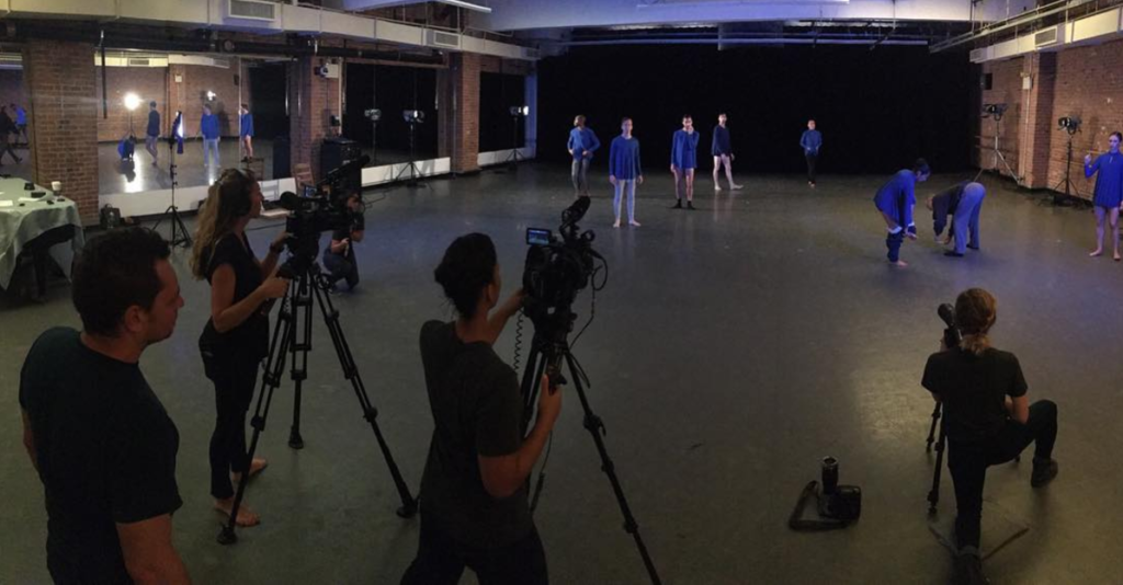 Nel Shelby Productions Filming Limon Dance Company