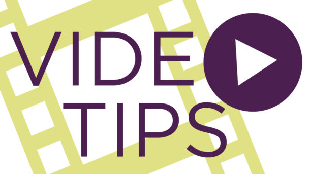 Nel Shelby Productions Video Tips