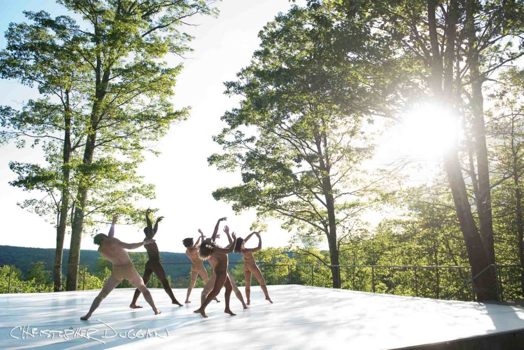 Behind-the-scenes dance films at Jacob's Pillow Dance Festival. Nel Shelby Productions. Photo Credit: Christopher Duggan