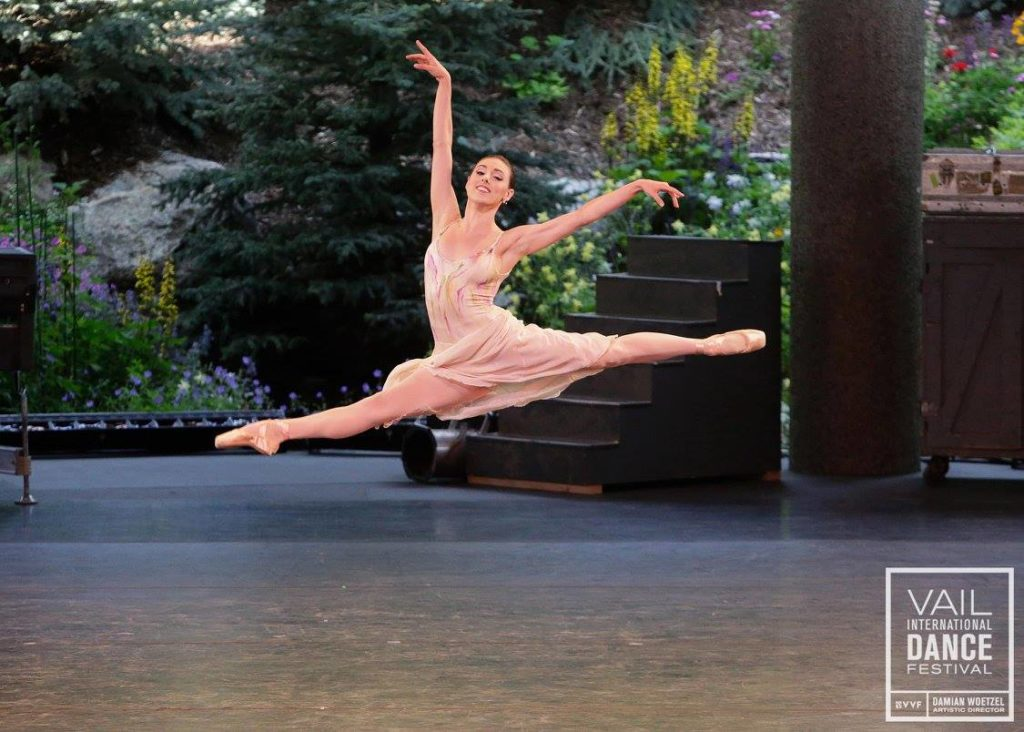 Tiler Peck - Celebrating 10 Years at Vail Dance Festival - Video by Nel Shelby Productions - Photo by Erin Baiano
