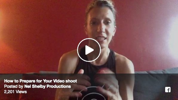 Prep For Your Dance Video Shoot | A Video Tip on Facebook Live