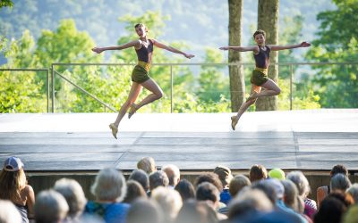 NYC Dancer Macy Sullivan at Jacob's Pillow