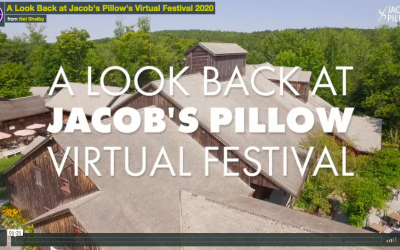 What It Takes To Put On a Virtual Event | Jacob's Pillow's Virtual Festival