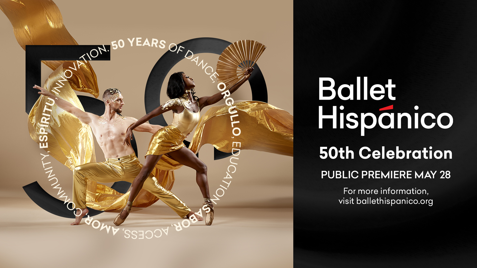Ballet Hispánico's 50th Anniversary Virtual Gala; Video Production by Nel Shelby