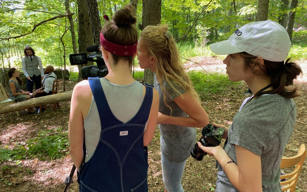 Filming Dorrance Dance For A Digital Premiere at Jacob's Pillow