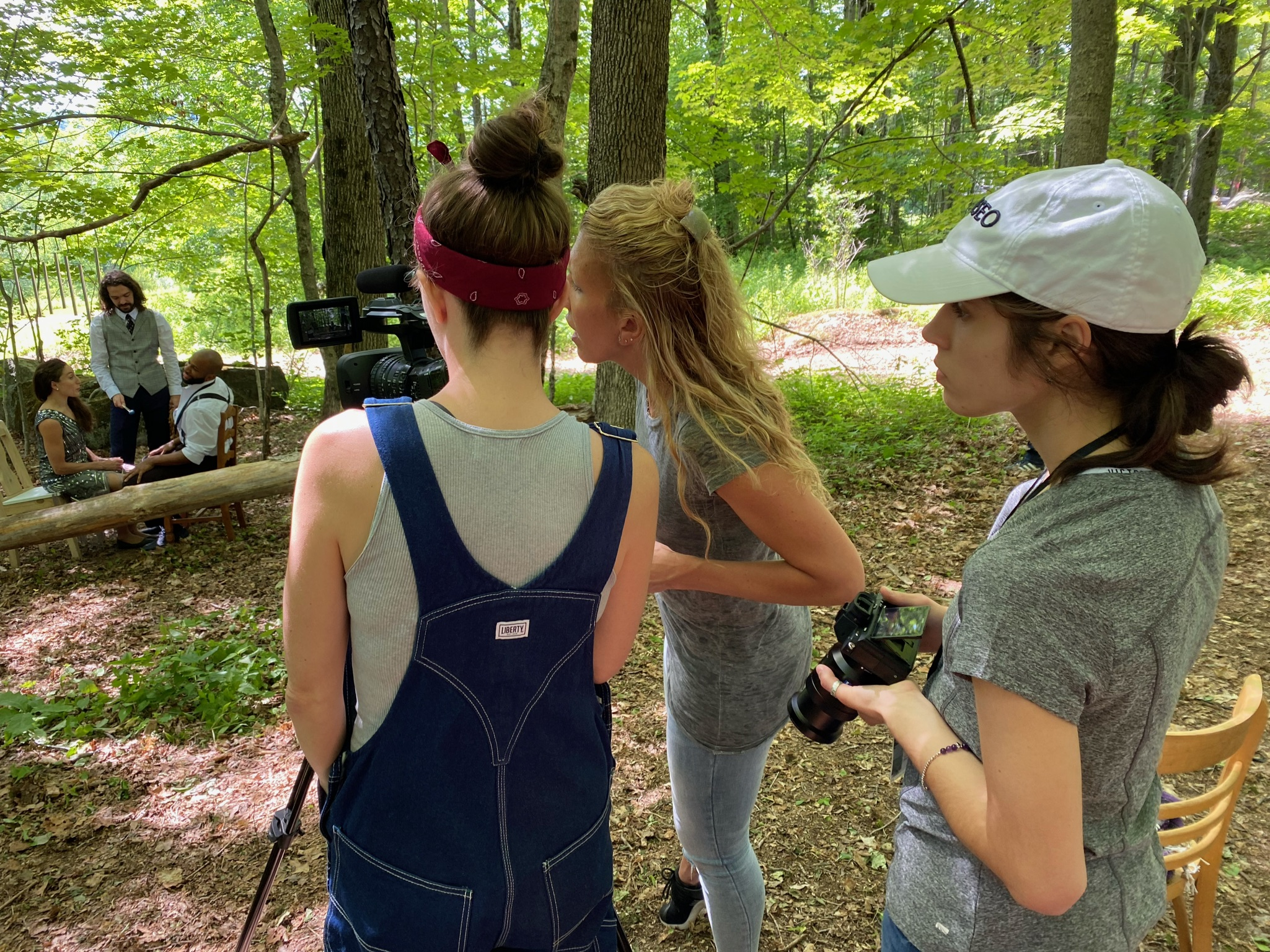 Filming Dorrance Dance for a Digital Premiere at Jacob's Pillow; video by Nel Shelby Productions